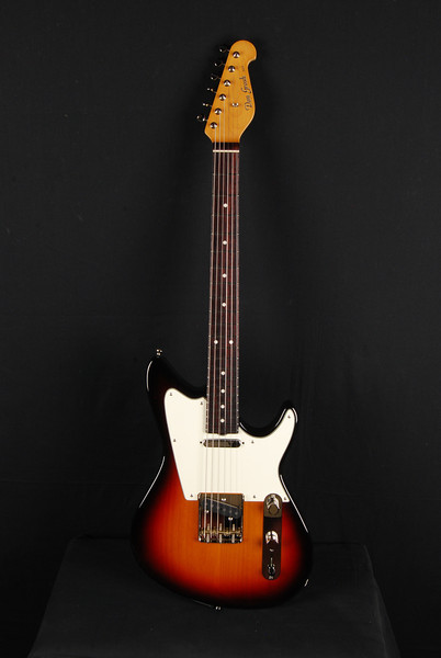 Don Grosh ElectraJet VT in '59 Burst, TT Pickups