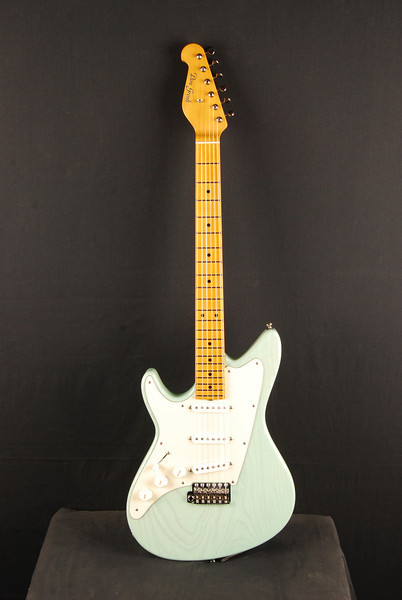 Lefty ElectraJet Custom, Mary Kay Surf Green, SSS Pickups