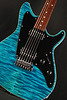 Don Grosh SuperJet in Trans Turquoise, HH Pickups