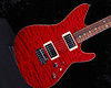 Don Grosh TurboJet in Bordeau Red, HH Pickups