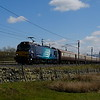 1Z88 at Shap Wells with first passenger train for class 88, 88002 leading