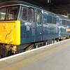 86101 at Euston with Lowlander sleeper stock