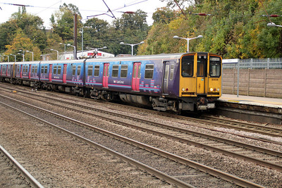 313036 approaching Hitchin on a Letchworth service, 26/101/2.