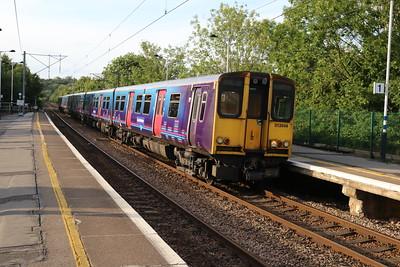 313044 arrive at Hertford North on 2J49 Watton-at-Stone-Moorgate   15/06/18