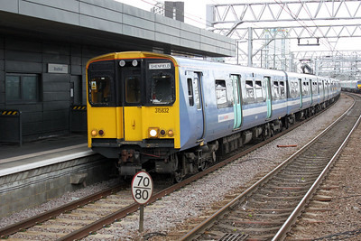 315832 on a Liverpool St-Shenfield service at Stratford 21/06/11.