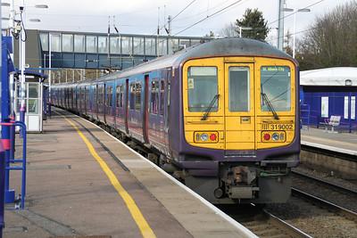 319002 on a Bedford service through Harpenden 24/02/12