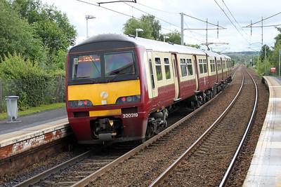 320319 departs Bellshill  04/07/12