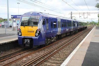 334028 at Shettleston Station.