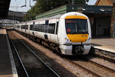 357210 at Dagenham Dock 22/07/13.