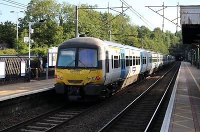 365530 0737/1P10 Kings Cross-Peterborough passes Welwyn North    22/06/19