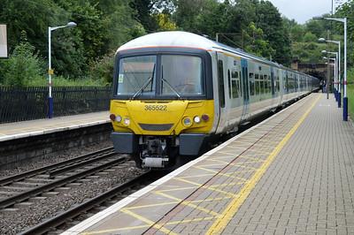 365522 arrives Welwyn North  13/07/14.