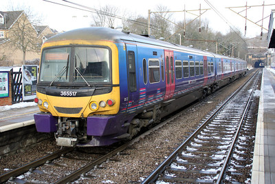 365517 Heads for Cambridge at Welwyn North 10/02/12