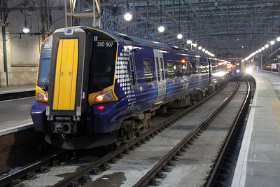 380007 at Glasgow Central.