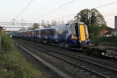 380017 Being delivered on 7X80 Dollands Moor-Polmadie 18/04/11