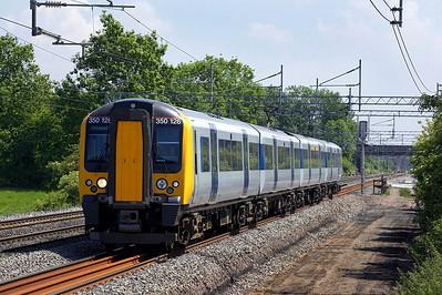 350126 forms 1K82 1249 London Euston-Crewe passing Cathiron on 08/06/2006.