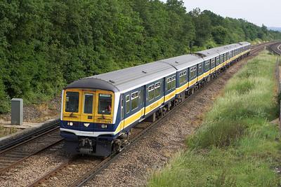 319429+319445 pass Salfords whilst working 1T40 1638 Haywards Heath-Bedford on 20/06/2005.