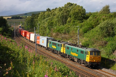 86605+86613 Greenholme 4M74 Coatbridge to Crewe on 16th July 2010