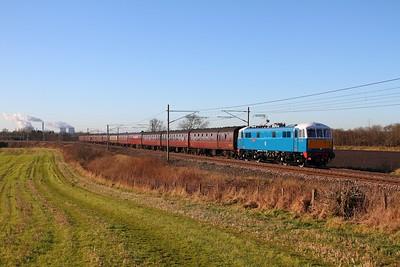 86259 Red Bank 1Z86 Euston to Carlisle on 2nd February 2013