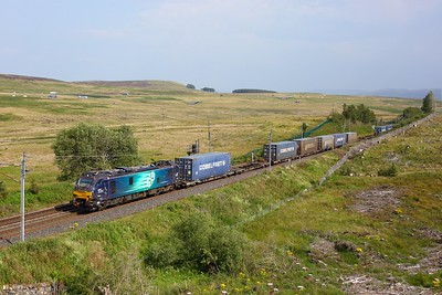 88010 working 4S44 Daventry to Mossend at Shap on 31 July 2020  Class88, DRS, WCMLTebay