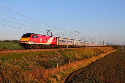 91108 on the 1D26 1803 London Kings Cross to Skipton at Frinkley Lane on the 23rd April 2015