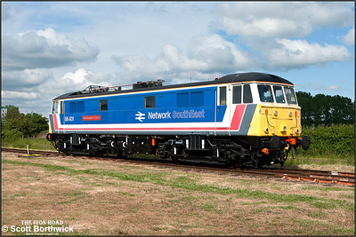 86401 'Northampton Town' stands in the sunshine at Long Marston during an open day on 07/06/2009.