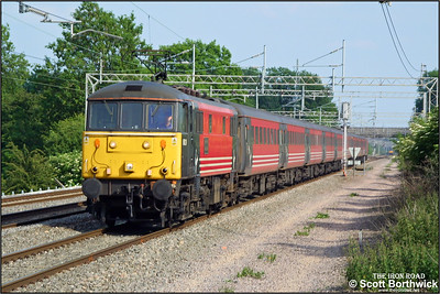 86229 'Lions Club International' passes Cathiron with a Virgin West Coast service from London Euston on 13/06/2003.