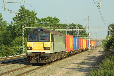 92015 passes Cathiron on 13/06/2003 with 4Z78 1816 Daventry IRFT-Grangemouth.