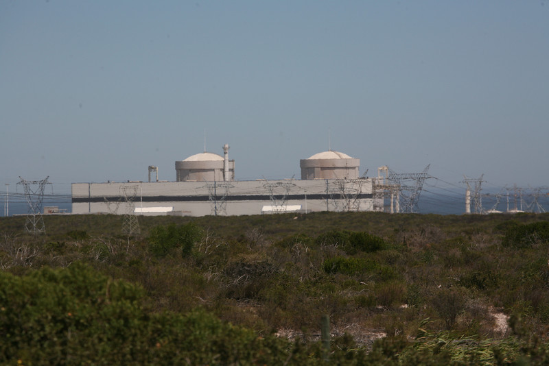 Nuclear power station, Koeberg, Cape Town, South Africa