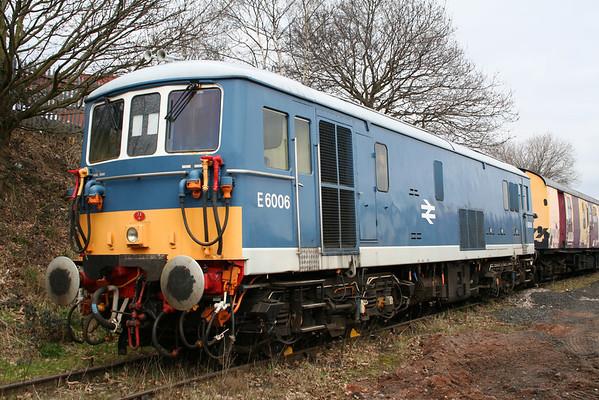 73006 in Kidderminster loco sidings. 19.03.06