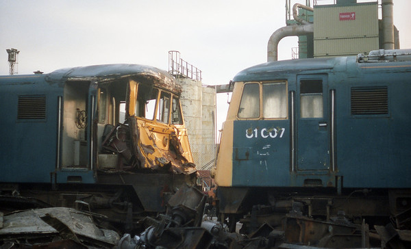 The crash damaged 81005 and the cab of 81007. 11.91