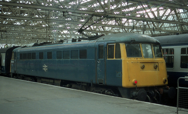 85030 at Glasgow Central.