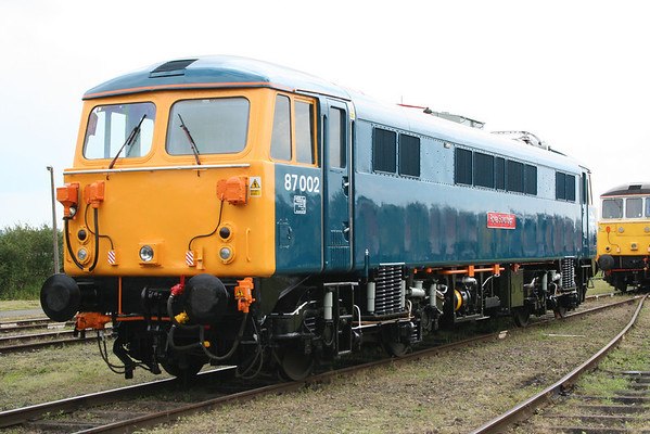 Ex Works 87002 at Long Marston. 07.06.08