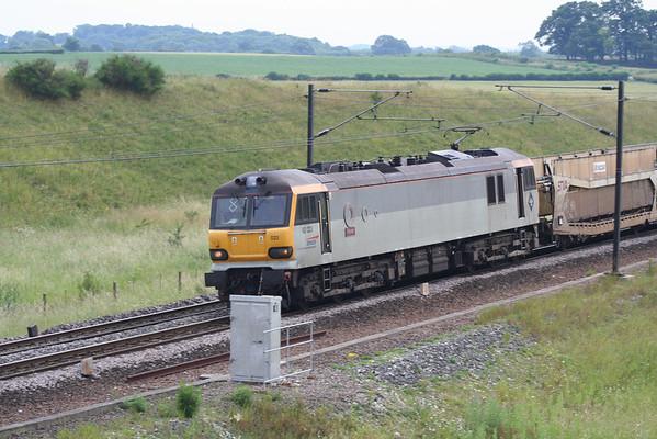 92023 passes Colton on 6E28 0845 Dollands Moor - Tyne Yard. 12.07.05
