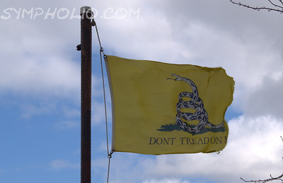 Gadsden Flag for Patriots Day -- Remember the Fallen in Boston