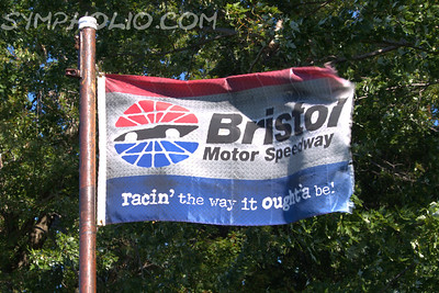 Bristol Motor Speedway Flag Irwin Tools Night Race - August 24, 2013