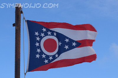 "State of Ohio Flag  Thomas Alva Edison Born February 11, 1847 Milan, Ohio  ""Be courageous! Whatever setbacks America  has encountered, it has always merged as a stronger and more prosperous nation.... Be brave as your fathers before you.  Have faith and go forward.""    ~Thomas Alva Edison"""