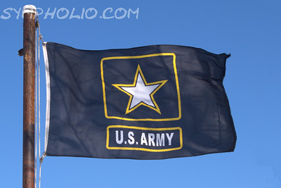 U.S. Army Logo Flag
