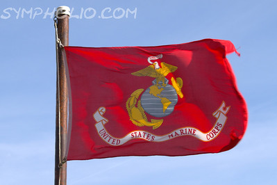 US Marine Corps Flag April 27, 2013