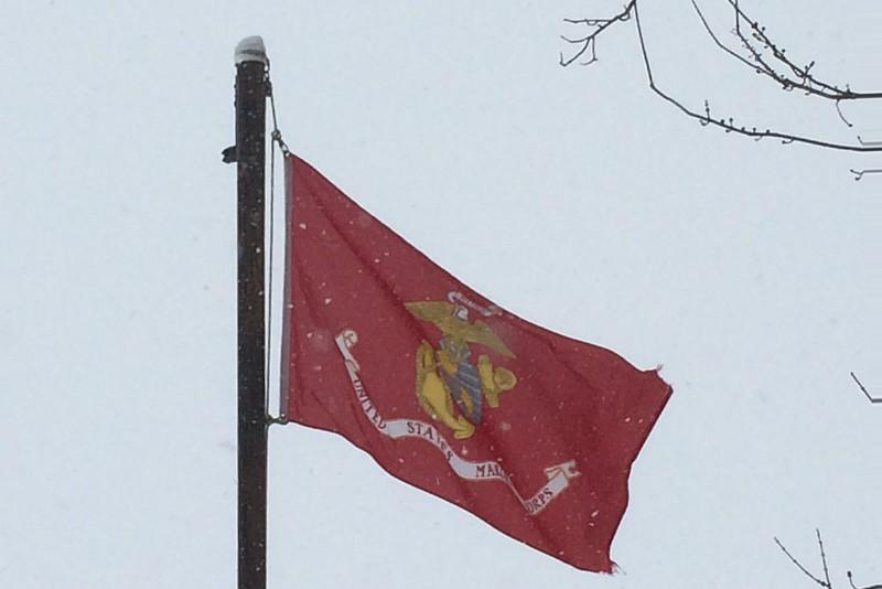 February 23, 1945 - US Marines Raise the American Flag on Iwo Jima
