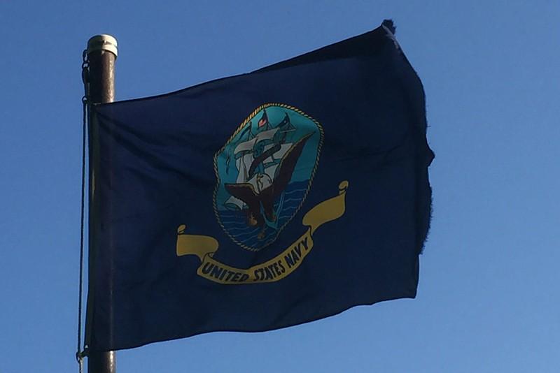 July 30, 1945 - U.S. Navy Flag