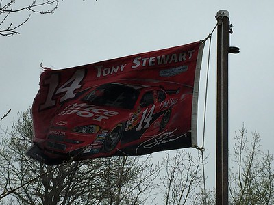 April 24, 2016 - Tony Stewart Flag