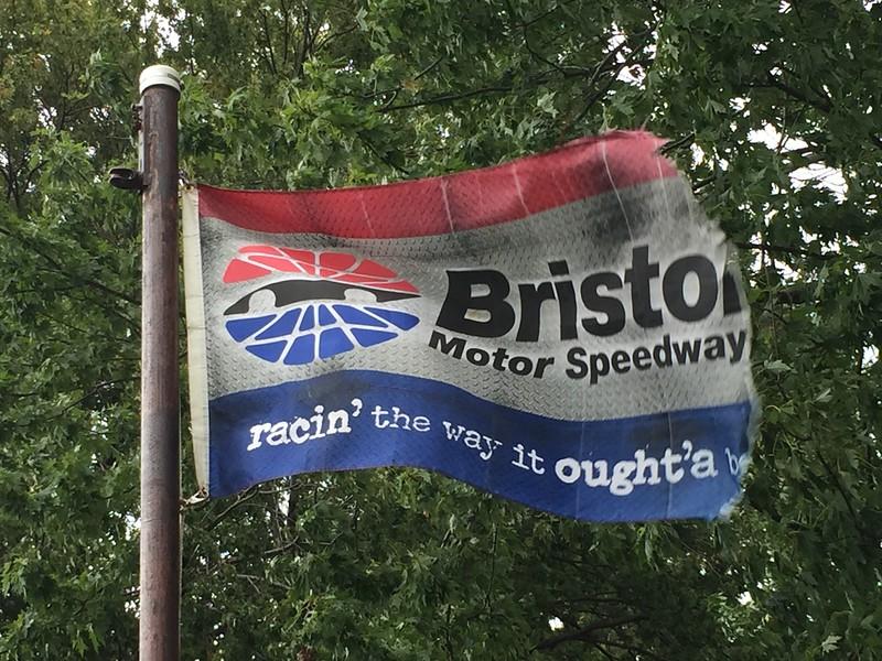 August 21, 2016 - Bristol Motor Speedway Flag