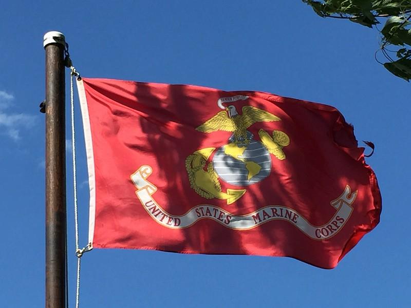 July 11, 1798 - U.S. Marine Corps Flag