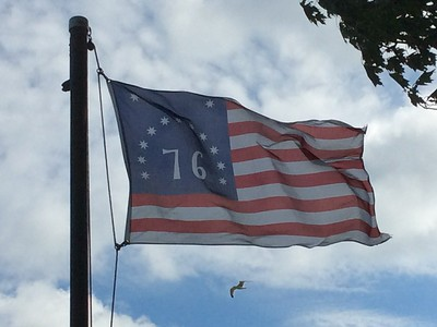 July 4, 1776 -- Bennington Flag
