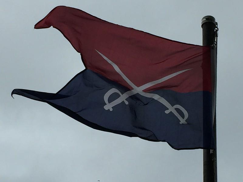 June 25, 1876 - 7th Cavalry Battle Banner