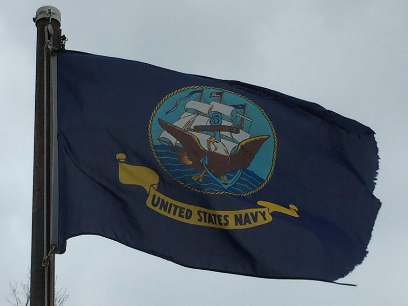 December 7, 1941 - US Navy Flag