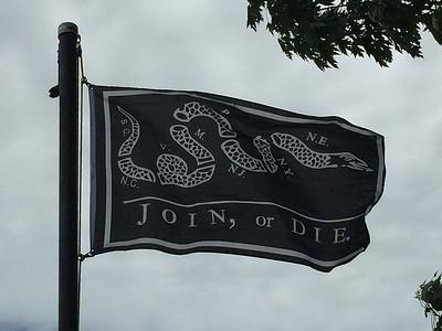 July 2, 1776 - Join or Die Flag
