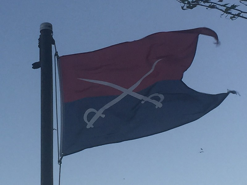 November 6, 1891 - 7th Cavalry Flag