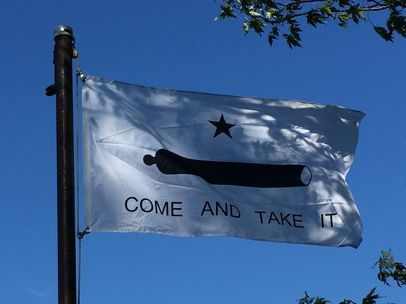 The Battle of Gonzales was the first military engagement of the Texas Revolution. It was fought near Gonzales, Texas, on October 2, 1835, between rebellious Texan settlers and a detachment of Mexican army troops.
