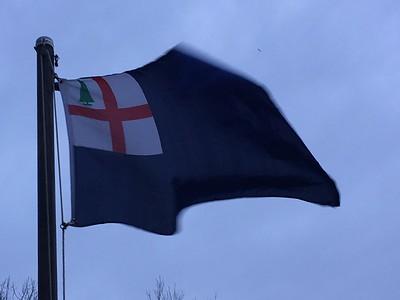 January 14, 1784 - Bunker Hill Battle Flag